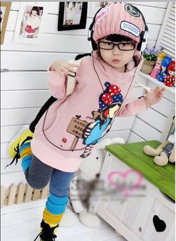 Retails 2013 autum winter kids boy girl base shirt long sleeve bowknot cotton fleece inside shirt 2-6age Free shipping