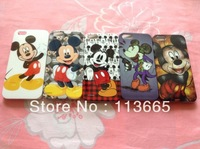 Free shipping wholesale 10pcs/lot cartoon Mickey case for iphone 5s 5 hard plastic case