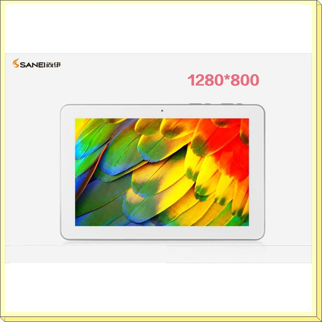 DHL free shipping 10.1'' Sanei N10 Quad core Tablet PC Allwinner A31  IPS Screen 1280*800 2GB/16GB WIFI+HDMI+OTG+3D+Dual camera