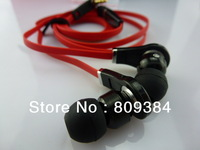2013 new packages in-ear Earphone with control talk for tour -black/white with ear plug