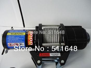 12V 4000LB ATV UTV 4WD Electric Winch With Wireless Remote Control free shipping