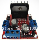 Free shipping  5pcs/lot L298N Dual H Bridge DC Stepper Motor Drive Controller Board Module