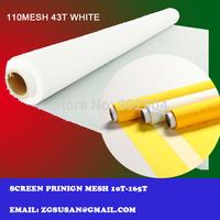 43T-80w 110 mesh 1.65M*2M polyester monofilament screen mesh