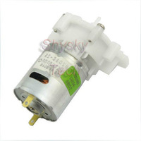 Free shipping 5/Lot DC Micro pump Micro plastic gear-type DC water pump 6V for DIY toys