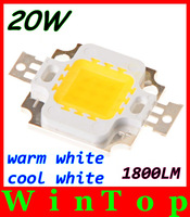 5pcs/lot 1800LM Epistar 20W LED Led Lamp Bulb Light LED Chip Warm white/White Lighting Free Shipping