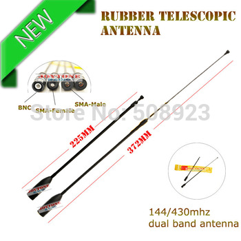 Free shipping SMA-Male telescopic wireless portable radio antenna NA-636
