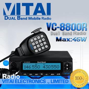 Hot~!! Dual Band Mobile Radio VITAI VC-8800R Dual Band VHF UHF Mobile Radio+Free Shipping