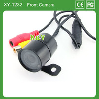 Front view waterproof and night vision car camera with bracket (60 degree view angle)