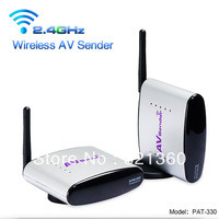 2.4GHz Wireless Audio Video Sender Transmitter Receiver & original US/EU/UK plug