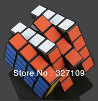 "Black Shenshou 4x4x4 Competitve Speed Spring Magic Puzzle Cube Game Intelligence Fancy Toy Gift 2.25"""