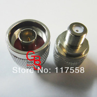 Free Shipping + 10PCs/Lot N connector adapter N male to F female RF adapter N16