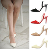 Free Shipping (1pairs) 2013 New Arrival Pointed Toe Sandals Career Dress High Heels Shoes Woman Pumps Plus Size 889-30