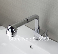 e-pak single hole pro pull out faucet chrome kitchen sink Mixer tap chrome kitchen water tap A-510