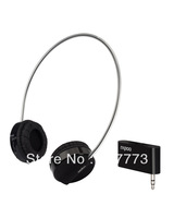 [Postmodern]  Rapoo H3010 2.4GHz 8m Wireless Earphone Headset with 3.5mm Audio Transmitter