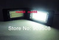 2pcs Volkswagen License Plate Light SMD LED kit For VW  Passat 5D/R36 Not Canbus