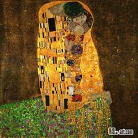 Canvas Prints- Gustav Klimt the kiss giclee prints for bedroom 10-gw-1 (26)
