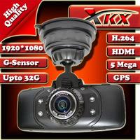 High Quality New Arrival Ambarella CPU GS9000 GPS Video Full HD 1920*1080 30FPS Car Dvr Camera Black Box Recorder Freeshipping