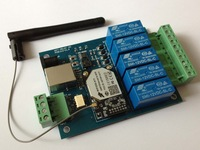 WIFI-RELAY wifi remote control board with Five channel relay output