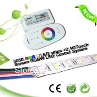 5m, 24VDC, 60LEDs/m SMD5050 RGBW LED Strip ( IP20)+1pcs touch screen RGBW LED controller