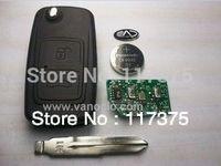 Chery Tiggo 2 button folding remote key control 433mhz