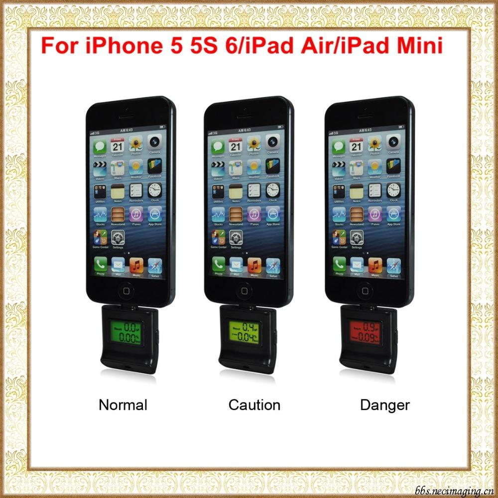 iPega Digital Backlight Breath Alcohol Tester Analyzer For iPhone 5 5S 5C 6/ iPad Air/iPad 4/Ipad Mini/Ipod Touch PG-I5006(China (Mainland))