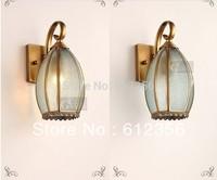 Free Shipping! Classic Copper Gardon outdoor wall lights 220v light fixtures nb8055-01.