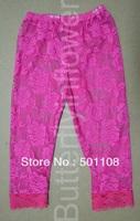 2013 wholesale boutique kid wear baby lace leggings 100pcs/lot