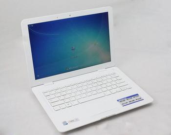 DHL Free Shipping 2013 Fashion 13.3 INCH Ultra thin mini netbook notebook 1.86GHZ DDR3 160GB 2GB RAM
