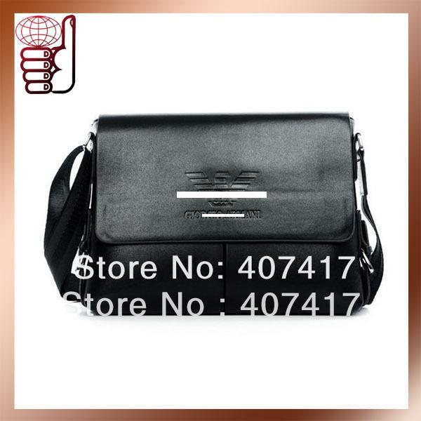 Мини сумки, Барсетки Маленькая сумочка Retail 2013 Fashion Design PU Leather Shoulder Bag Man Famous Brand Messenger...