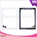 100% gurantee original For ipad 2 digitizer touch screen with home button assembly  black /  white DHL Free shipping
