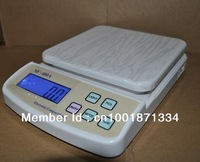 free shiping 10KG 1g Precision Digital Kitchen Weighing Scale with LCD Screen factory price promotion380