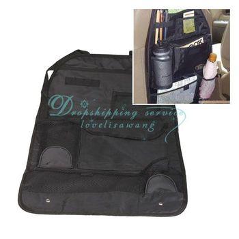 Car Auto Back Seat Hanging Organizer Collector Storage Multi Pocket Hold Bag