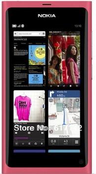 "Refurbished Original Nokia N9 Smart cellphone 8MP camera GPS WIFI 16GB Dual core 3.9"" touch Screen FM Free shipping"
