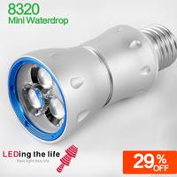 8320 Mini Waterdrop e27 light bulb base best lighting under cabinet lighting from LEDing the life