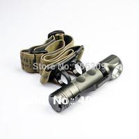 Lightmalls UF-H6 Cree XM-L T6 5-Mode 800-Lumen LED Headlamp(1*18650)