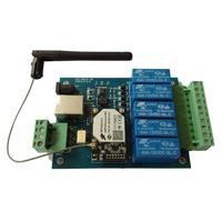 WIFI RELAY Control board, wifi module on board, wifi remote control board