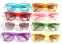 2014 Trendy Baby Boys Girls Kids Sunglasses Metal Frame Children Vintage Frog Mirror Sun Glasses Oculos De Sol Gafas With bag