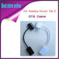 USB Host OTG Cable Connection Adapter For Samsung Galaxy Tab 10.1 P7510 P7500 Galaxy Note 10.1 N8000 N8010 For P3110 P5100