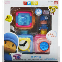 Free Shipping New POCOYO & FRIENDS Pocoyo and Squares Collectible Figure Toy Lovely Gift For Kids