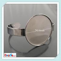 Beadsnice ID25030  in stock fashion jewelry infinity bracelet nickel-free lead-safe brass bracelet base