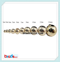 Beadsnice ID26034 wholesale beads Ion plating 18k gold plated  no fade jewelry findings top quality  beading for jewelry making