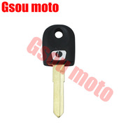 Free shipping Motorcycle Blank Key Uncut Blade For DUCATI 1000 DS1100 848 1098 1198 696 796 BLACK