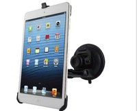 Car Mounts for iPad Mini 360 Degree Rotates ,Strong Sucker for Wind Shield Free Shipping
