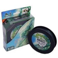 M&X 300yd  PE 10LB 20lb 30lb 40lb 50lb 65lb 80lb 100lb Braid Fishing Line Weave Pro Line Moss Green