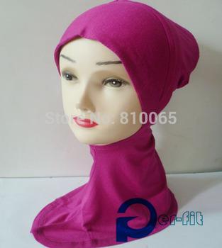 ninja underscarf neck cover cancer hat scarf viscose HeadWrap head cover Hat Bandana 14 Colour 20pcs/lot free ship