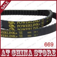 Gates Powerlink 669-18-30 CVT Drive Belt, 669 18 30 Drive Belt for Most GY6 50cc 139QMB Scooter Moped, Baja, JMstar, Roketa