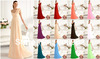 In Stock Sexy One Shoulder Evening Dresses Chiffon Prom Dress Gowns Size 2 4 6 8 10 12 14 16 +, Style: Z260