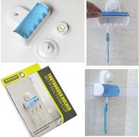 New 2014 Useful Set 5 Toothbrush Holder 1 Pcs Stand Rack Bathroom Accessory