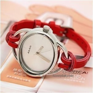 Free shipping HOT 10 colors Ladies Leather Strap Watch ,alibaba express HOT!hand-knitted leather women' watch 10pcs/lot(China (Mainland))