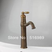 Antique Brass Kitchen Sink Bathroom Basin Sink Mixer Tap Brass Faucet  LS 0024